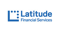 Latitude financial services logo.